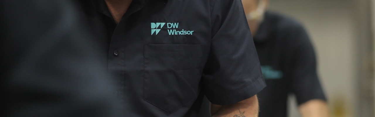 DW Windsor employees manufacturing exterior lighting
