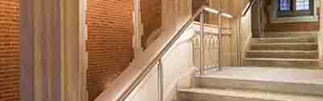 Full width banner How to illuminated handrail Desktop image 3320x1000px