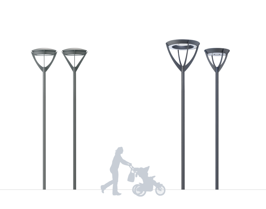 Milano Decorative Street Lighting Product image 2000x1572px