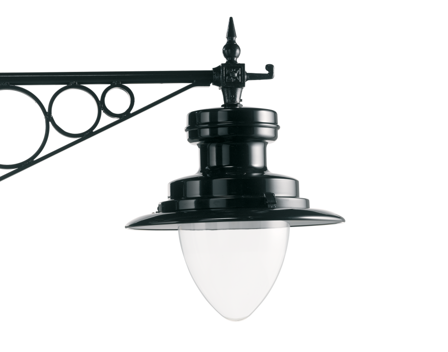 Strand C Tear drop Wide brim Heritage Street Lighting Product image 2000x1572px