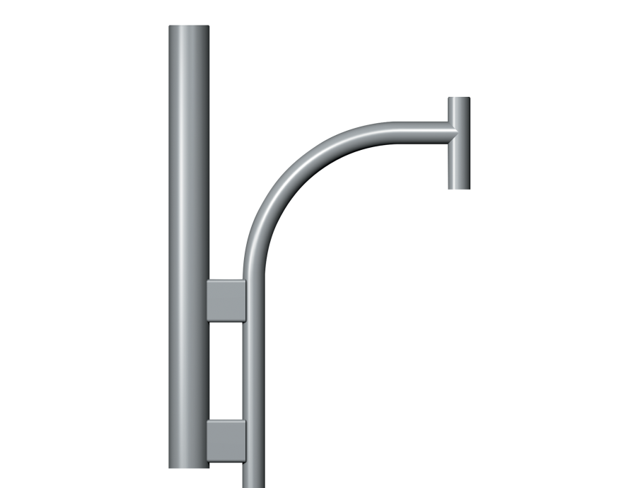 Teca Top Entry Column bracket Product image 2000x1572px