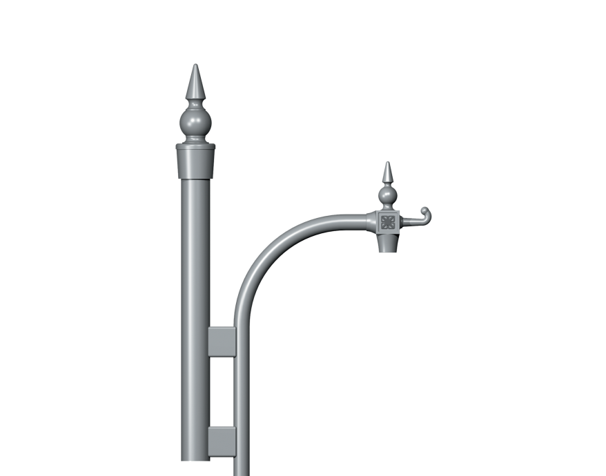 Teca Traditional Column bracket Product image 2000x1572px