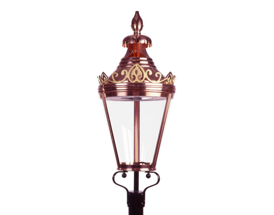 Westminster Copper Heritage Street Lighting Product image 2000x1572px Alt3