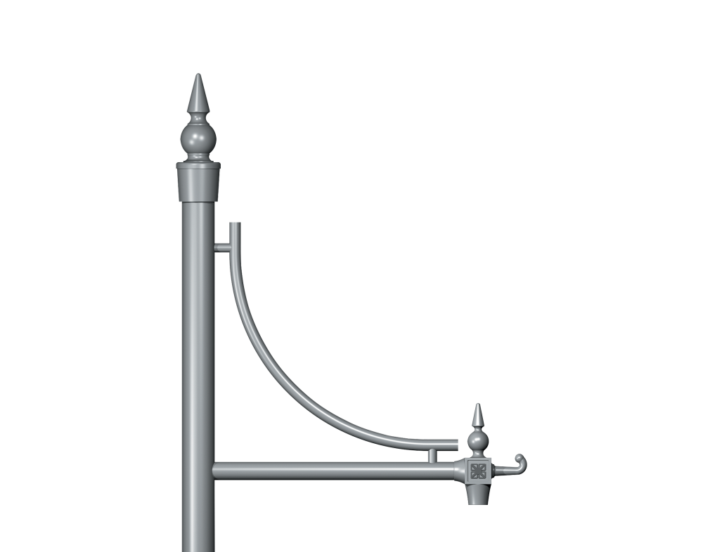 Inverted Genus Traditional Column bracket Product image 2000x1572px Alt1