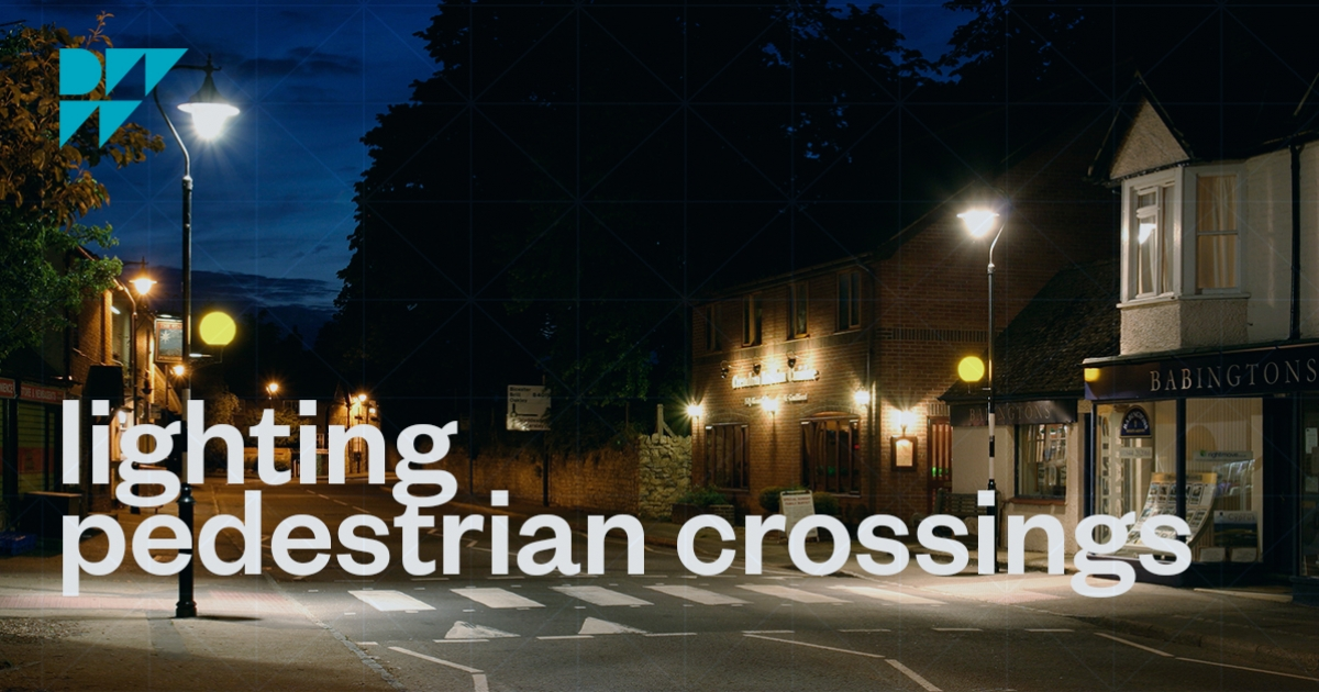 How To Light Pedestrian Crossings Dw Windsor